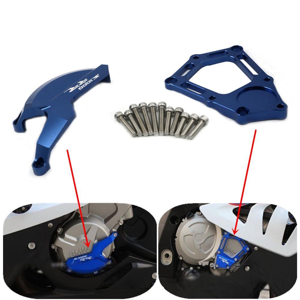 Prix pour Économiseur Moteur De moto Stator Cas Garde Protecteur Slider pour BMW S1000RR HP4 K42 K46 2009 2010 2011 2012 2013 2014 2015