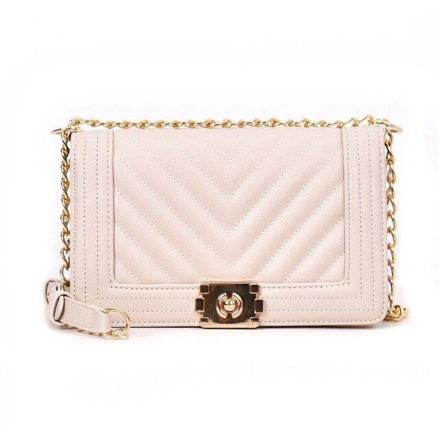 Women Messenger Bags Chain...