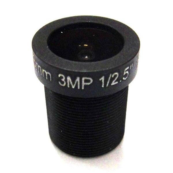 2pcs HD 3mp 3 6mm 92 Degrees Wide Angle CCTV IR Board Lens 3 0MP IP