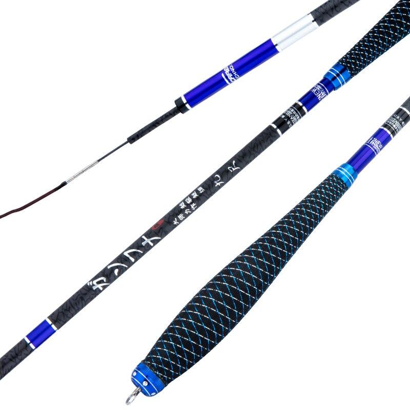 Специальная цена Тайвань Удочка супер легкий Удочка более тонкий портативная рыболовная удочка высокоуглеродистой ручной Pole2.7m М 3,6 м 4.5m5.4m
