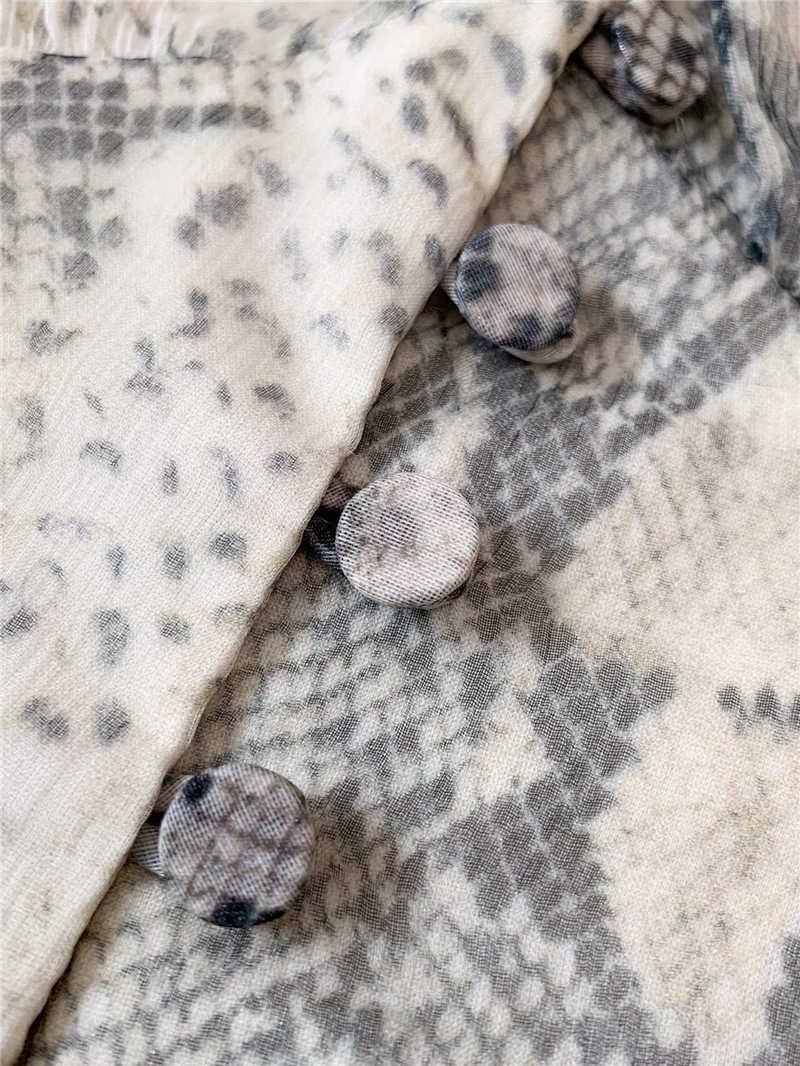 Truevoker дизайнерское Европейское элитное женское сексуальное платье с глубоким v-образным вырезом из змеиной кожи с принтом для отдыха и пляжа Vestidoes