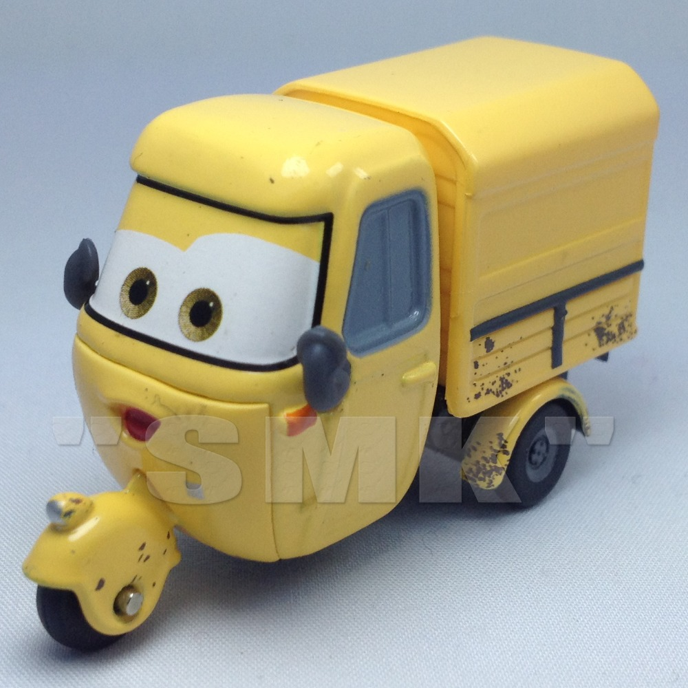 car toys for childrenmaziniyellow trike100 original pixar cars 2