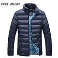 ZOOB MILEY Men Winter Coats Plus Size M-4XL Causal Warm Long Sleeve Jackets Parkas Men Fashion Overcoat Outerwear
