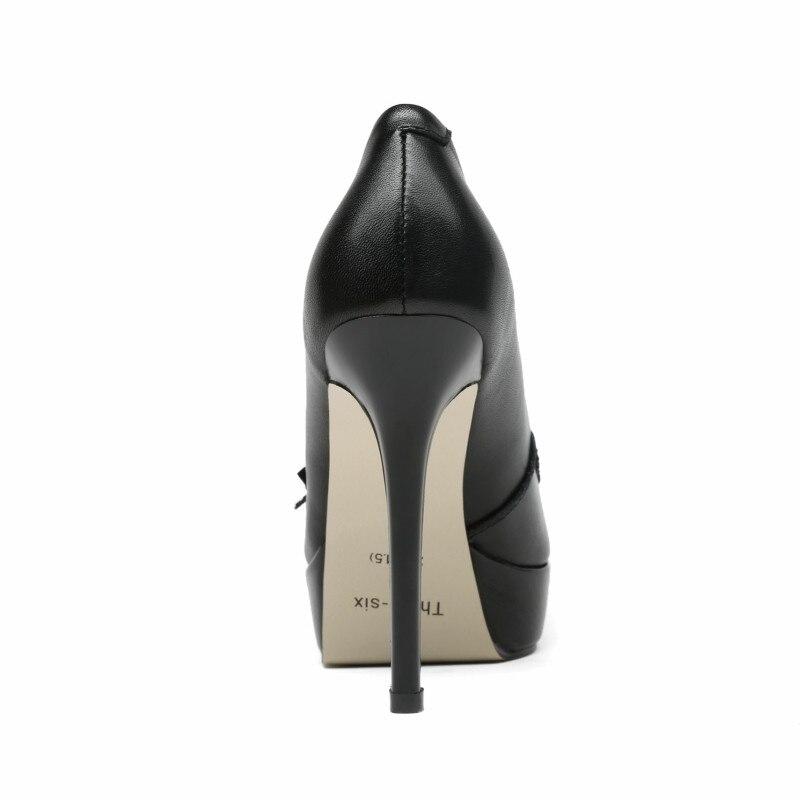 En Cuir Slip Talons Appliques Ol noir Véritable Femme Marque Printemps Automne Chaussures forme vert Doratasia Beige Noir on Pompes Plate 2018 Hauts qwTx088OY
