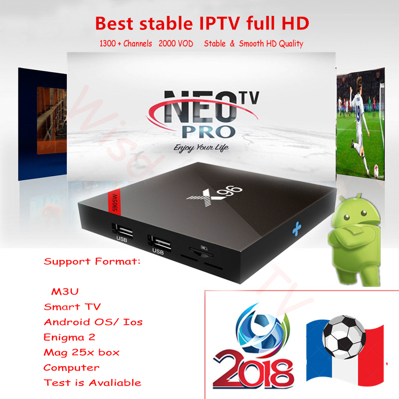 IPTV Abonnement Neo Pro French IPTV Europe Arabic Belgium IPTV Subscription Code LiveTV M3U Android Enigmas 2 Mag Box  Smart TV