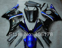 Hot Sales,Injection mold Yzf600 R6 05 fairing kit For Yamaha Yzf R6 2005 Black Monster Motorcycle fairing (Injection molding)