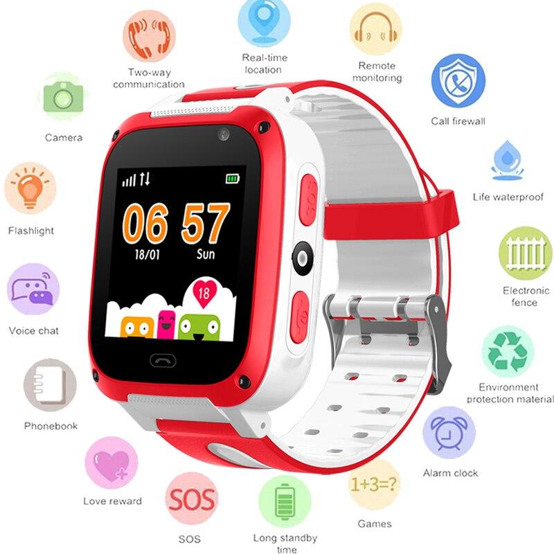 BANGWEI 2018 Nouvelle montre Smart watch GPS Enfant SmartWatches Anti Perdu Bébé Montre pour Enfants SOS Call Lieu Finder Locator Tracker + boîte
