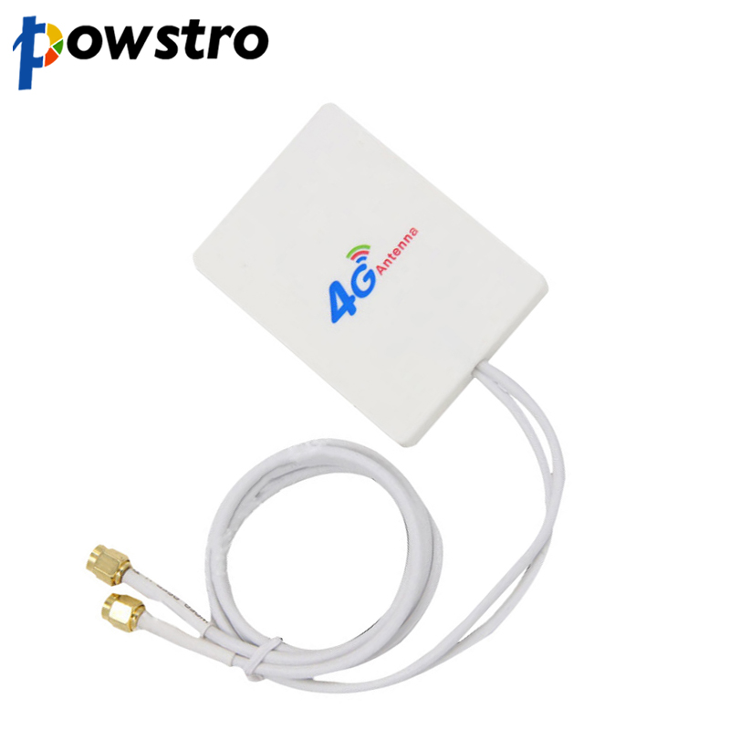 28dBi 4G 3G LTE 2x TS9 Broadband Antenna Signal Amplifier For Mobile Router 2.9m