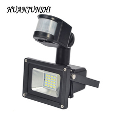 10w solar outdoor flood light searchlight sensor flood lamp projector led floodlight waterproof security lights with solar panel