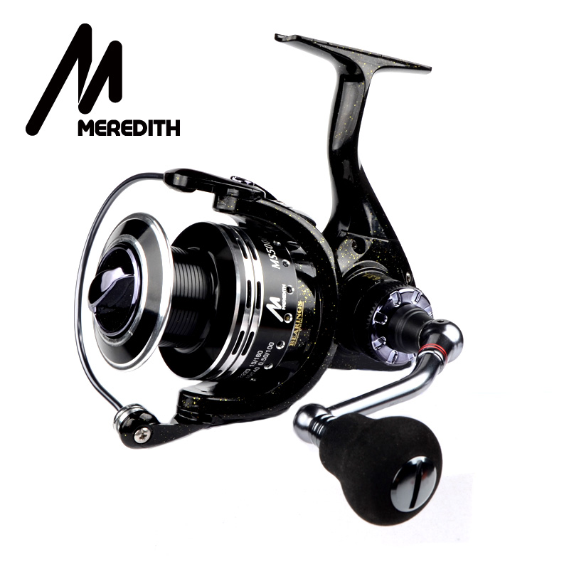 Meredith 6BB+1RB Drag Spinning Reel with Larger Spool 8-12KG Max Drag Sea Boat Spinning Fishing Reel piscifun 2017 venom water resistant spinning reel max drag 12kg carbon drag 10 1 ball bearings sea boat spinning fishing reel