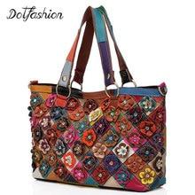 2017 Floral Handtasche Vintage-Mode Berühmte Designer Marke frauen Handtaschen Aus Leder Damen Handtaschen Sac Ein Haupt Weibliche Beutel