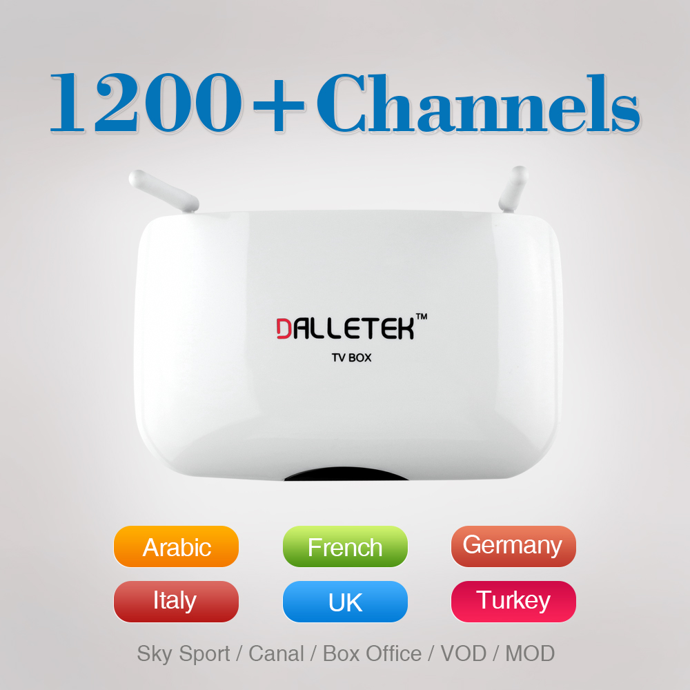 ФОТО Android TV Box 1G 8G Android Quad-core Rockchip 3128 WiFi Support H.265 3D Smart Set Top Box with Free IPTV Europe Arabic