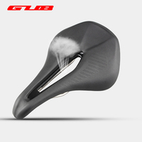 GUB 1180 258g MTB Microfiber Leather Bike Saddle Hollow Ventilation Ultralight Cycling Carbon Seat Highway Road Bicycle Parts