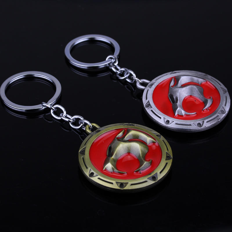 Cartoon Anime Thundercats Sword Alloy Key Chains Keychain Keyfob Keyring
