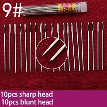 1 упаковка штифтов из нержавеющей стали для рукоделия, рукоделие, аксессуары для шитья - Цвет: NO 09
