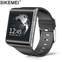 Sikemei Android смартфон Смотреть Bluetooth Sports Tracker Для мужчин Для женщин наручные 4G FDD LTE сети Камера Wi Fi GPS большой Батарея