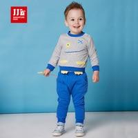 Insiemi dei vestiti del bambino del bambino ragazzo vestito con cappuccio + harem 2 pezzi set vestiti infantili di marca della cina di vendita al dettaglio 2016 primavera