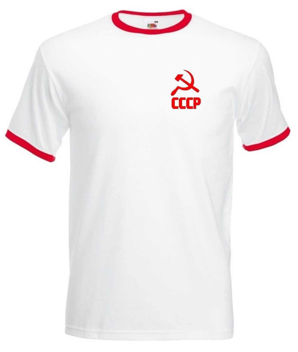 b70fc75bc3d Soviet Union Russia Russian Cccp Men'S Footballer Legend Soccers Newest  Style 3D Printed Men Tee Shirt