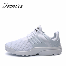 Mesh Shoes for Men Work out Lace Up Black Red Comfortable Light weight Casual sPU Sole