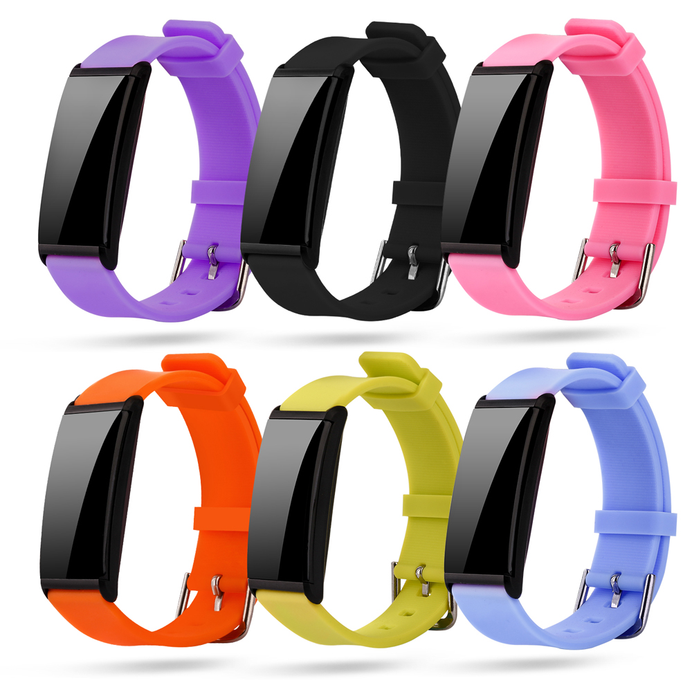 2017 New Fashion Bluetooth Smart Bracelet Wearable Devices Born Good Looking Heart Rate Band Wristband for