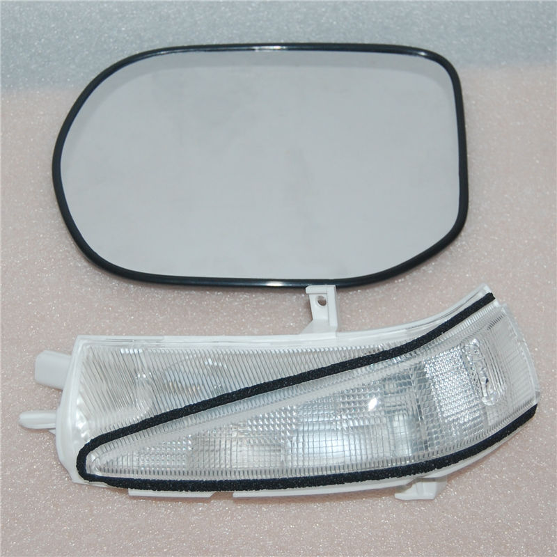 High quality Rearview mirror lens glass & Side turn signal