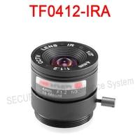 Hik cctv 카메라 렌즈 TF0412-IRA 고정 초점 고정 조리개 IR Asperical 렌즈 4 미리메터