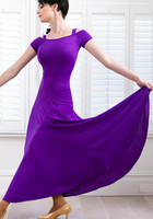 Multi farbe big pendel modern dance kleidung GB Latin ballroom Flamingo tango dance wettbewerb kostüme Spanisch tanzkleid