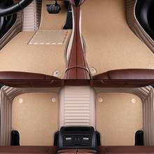 Custom Aviation Leather car floor mats for Bmw X5 X6 E53 E70 2013 2014- 2016 2017 -18  auto foot Pads automobile carpet 3d carpet boratex brtx 2110 for bmw x5 x6 black e 70 71