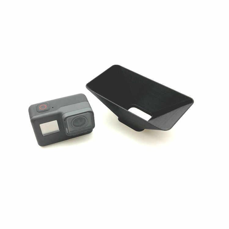3D печатных Пластик большой Камера солнцезащитный козырек для защиты от солнца светозащитная бленда объектива Крышка объектива Кепки для GoPro Hero5/6 Спортивные запчасти для фотоаппаратов