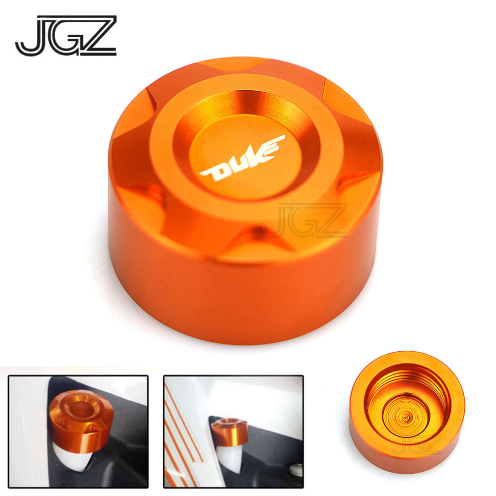 Orange Motorcycle CNC Aluminum Water Pipe Cap Cover for <font><b>KTM</b></font> <font><b>Duke</b></font> 125 200 <font><b>390</b></font> 2013 2014 2015 2016 <font><b>2017</b></font> 2018 Modified Accessories image