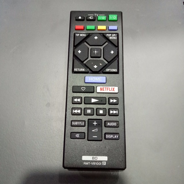 US $7 25 34% OFF|New Original Remote Control RMT VB100I for Sony Blu ray  DVD Player BDP S1500 BDP S3500 BDP S4500 BDP S5500-in Remote Controls from