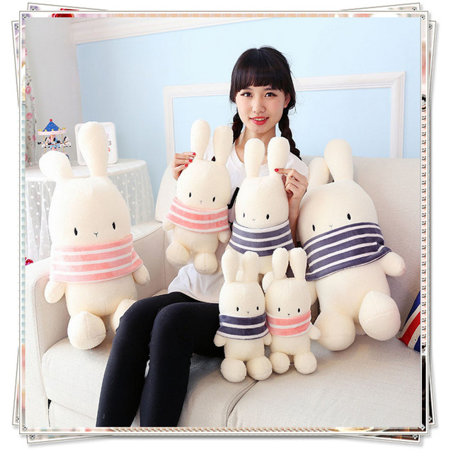 Rabbit doll kawaii plush toys for children stuffed fluffy bunny ty beanie  boos soft for bouquets dolls valentine s day gifts 71f943cba860