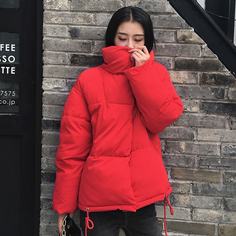 Autumn Winter Jacket Women Coat Fashion Female Stand Winter Jacket Women Parka Warm Casual Plus Size Overcoat Jacket Parkas Q811 12