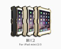 Gorilla Glass Metal Aluminum Hybrid Shockproof Waterproof Smart View Magnetic Flip Leather Cover Case For Apple