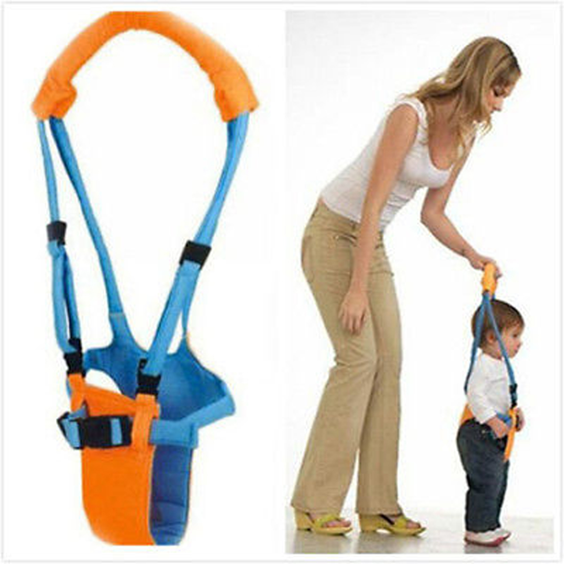 Kids Baby Baby Walker Harness Assistant Infant Toddler Harness Leashes Walk Learning Safety Reins Jumper Strap Belt For Children