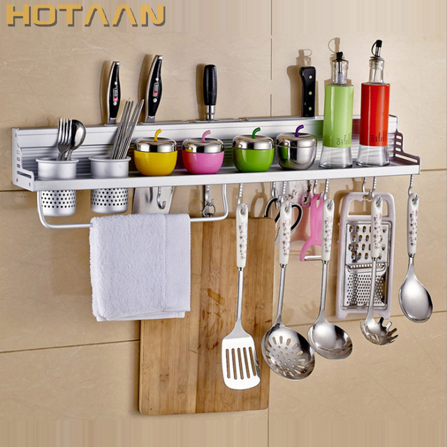 Kitchen Storage Holders & Racks Kitchen shelf Holder Tool Flavoring ...