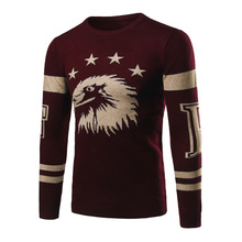 Sweaters For Men 2017 Men's Fashion High-grade Leisure Trend Winter Pullover Men Plus Size Winter Jacket Men