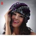 New Winter Fashion Faux Fox Fur Hat For Women Princess Cute Dome Caps Plus Warm Skullies Beanies and Rex Rabbit Fur Hat  No.27