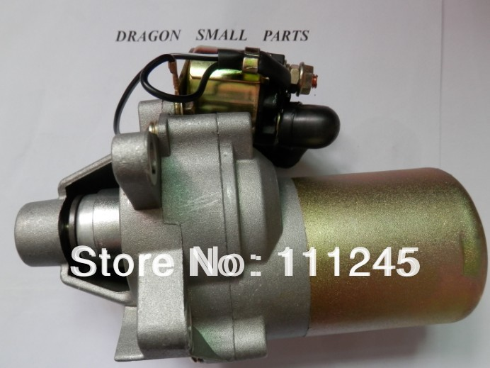 ELECTRIC STARTER MOTOR FOR HONDA GX140 GX160 GX200  FREE POSTAGE 12V 0.25KW  CHEAP STARTER 2KW 3KW GNERATOR  PARTS 12v 4kw new starter motor for ford f e series tg228000 8420