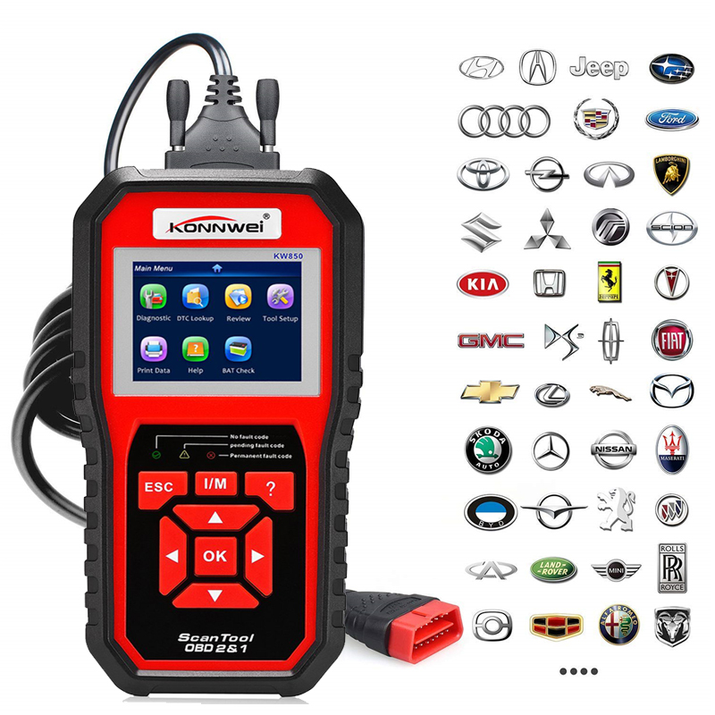 Professional Car ODB2 Scanner Code Reader OBD II Auto Diagnostic Scanner Car Diagnosis Universal OBD Engine Core Readers