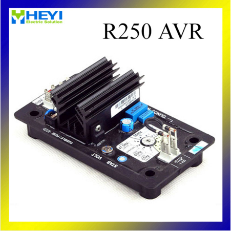 лучшая цена R250 brushless type generator parts avr automatic voltage regulator