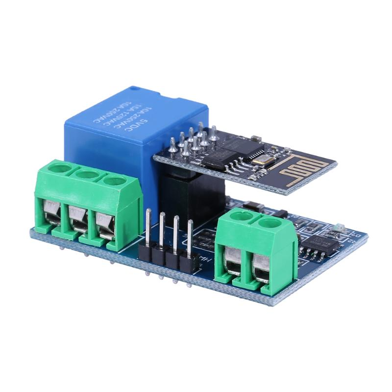ESP8266 5V Wifi Relay Module Remote Control Switch Electric Relay Module Parts Controlled by Phone APP for Smart Home Use esp8285 serial wifi module esp m2 ai home 16mbit control module fcc beyond esp8266