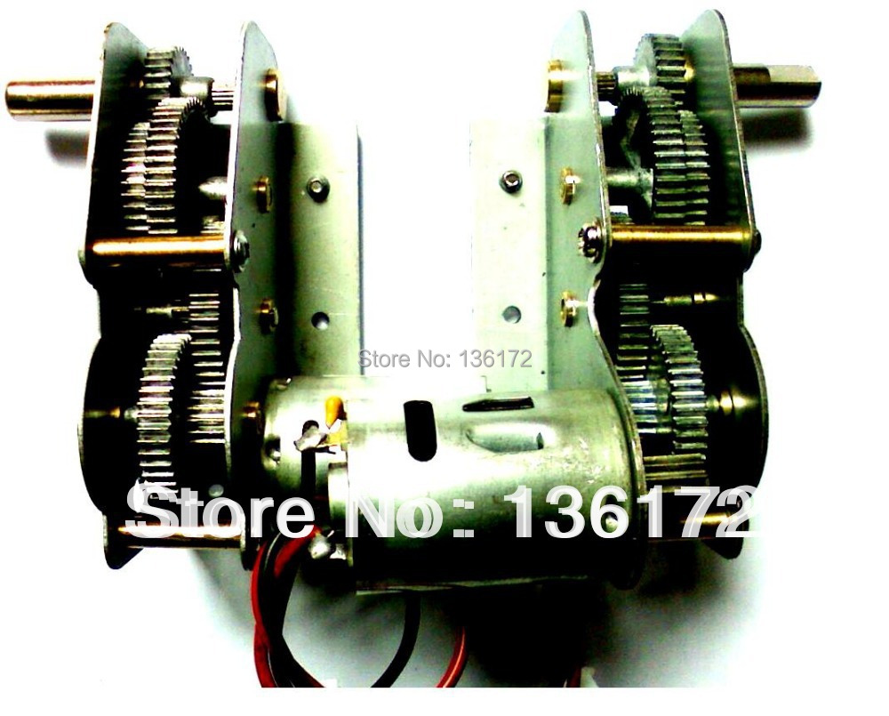 Henglong 3818 3819 3848 3849 3858 3859 3868-1 1/16 RC tank parts steel drive system /gearbox free shipping 4pcs set henglong rc tank 3818 3819 3838 3839 3849 3859 3869 3879 3889 ect 1 16 rc tank parts gearbox free shipping