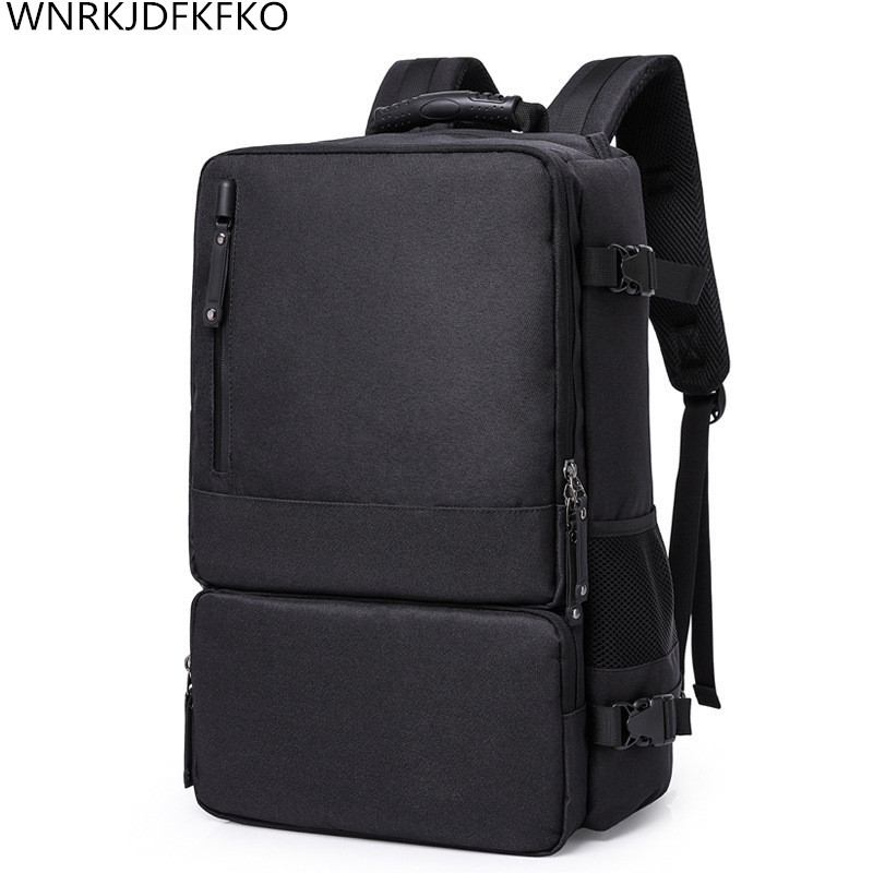 High-Capacity 17-inch Laptop Backpack Men's Business Bags Multi-Function Computer Bag College Bags Oxford Backpack