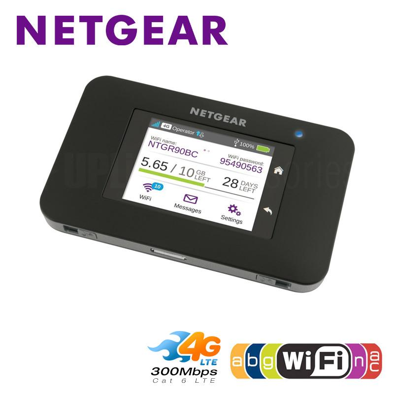 Unlocked NETGEAR AC790S Cat6 2CA 300 mbps 4g WiFi Routeur Dongle Sans Fil Aircard 790 s 4g LTE mobile hotspot + 2 pcs 4g Antenne