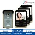 Home Door Video Intercom Wireless Video Door Bell 1v3 Indoor Monitors With Adjustable Camera + Motion Detect/ IR Infrared Sensor