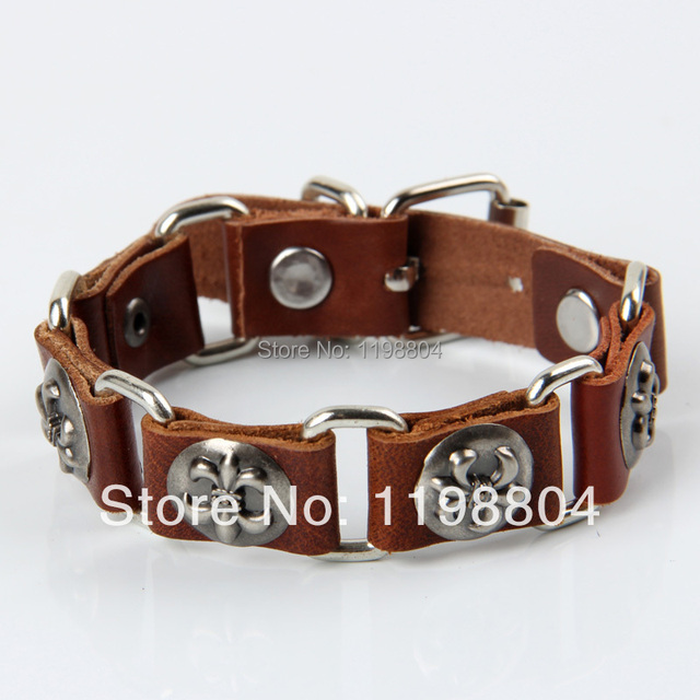 Psl249 Leather Bracelet Custom Bracelets Relationship