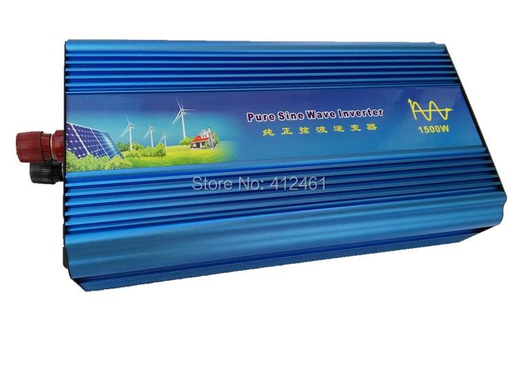 3000 Вт пиковая мощность 1500 Вт Чистая синусоида Инвертор dc вход 12 В/24 В/48 В к выходу переменного тока 110 В/220 В инвертор