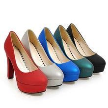 Ladies High Heels Platform Pumps