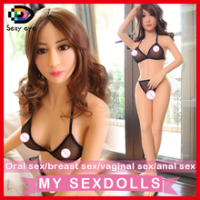 Real 135cm japanese full silicone istic sex for men oral/vagina/anal,lifelike big breast female sexy doll fake ass,sex toy
